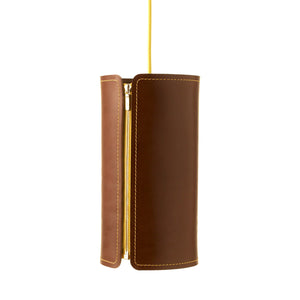 Tubo Leather Suspension Light | Urban Avenue
