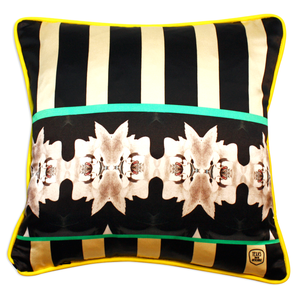 Bunnies Cushion in Silk | Urban Avenue