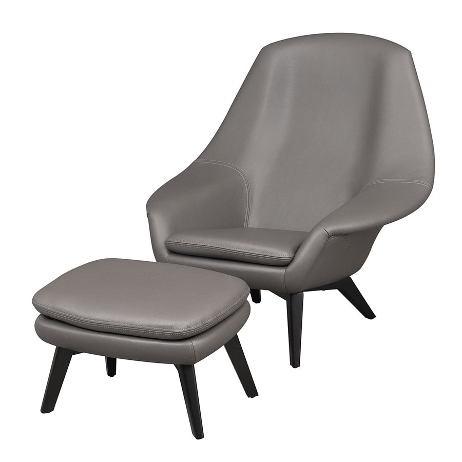 Olaf Armchair in Leather | Urban Avenue