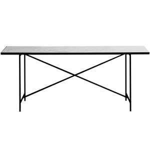HANDVÄRK Marble Console Table | Urban Avenue