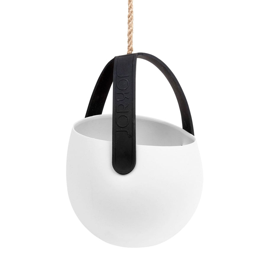 Sling Hanging Planter - White | Urban Avenue