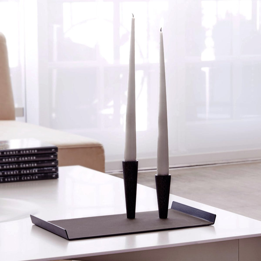 Cone Candle Holder + Tray Set | Urban Avenue