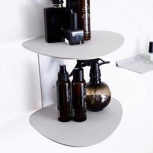Curve Leather Wall Shelf | Urban Avenue