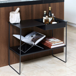 Leather Console Bar Table
