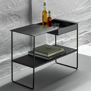 Leather Console Bar Table | Urban Avenue