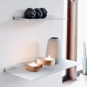 Slim Leather Wall Shelf | Urban Avenue