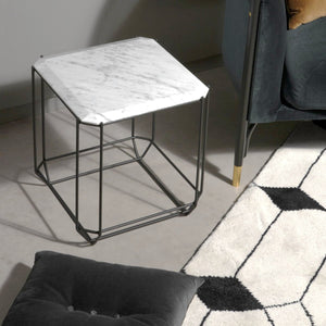 Jewel Marble Side Table | Urban Avenue