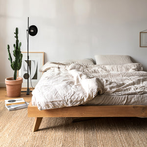 Live Edge Oak Bed | Urban Avenue