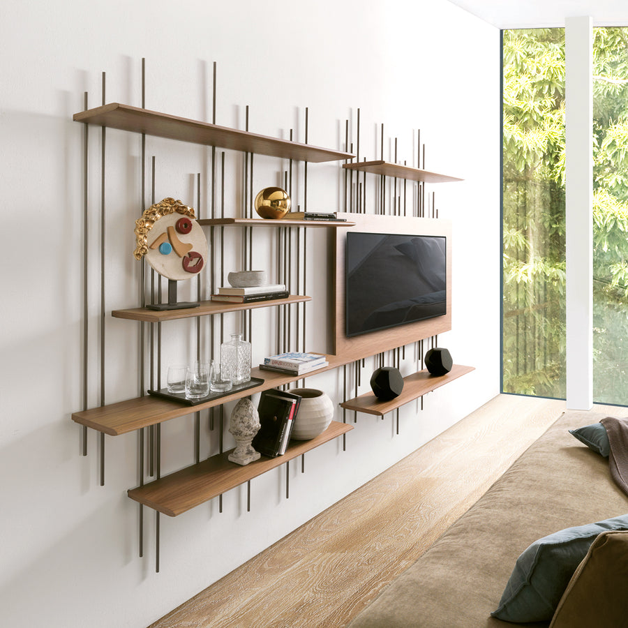 Tube TV Wall Unit