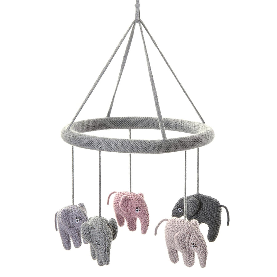 Knitted Elephant Mobile | Urban Avenue