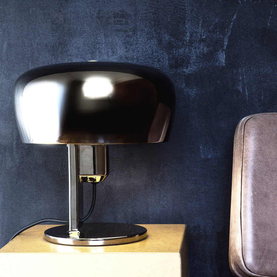 Coppola Metallic Table Lamp | Urban Avenue