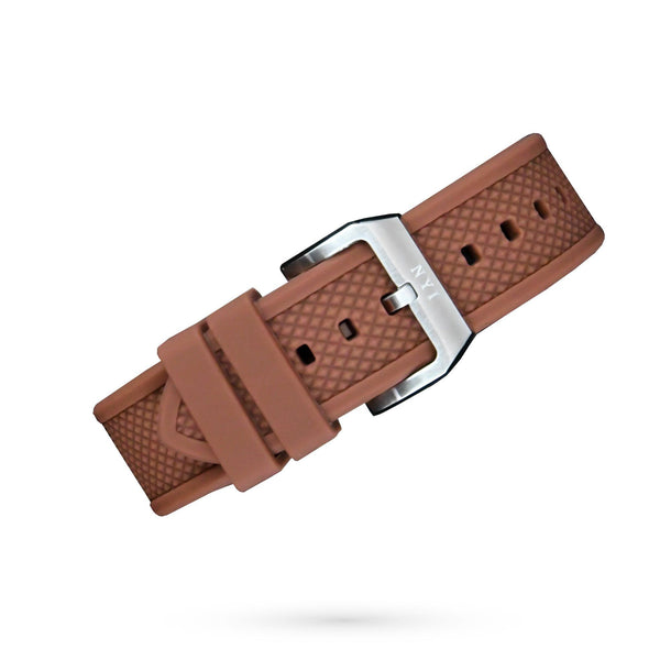 Strap - Brown Silicone