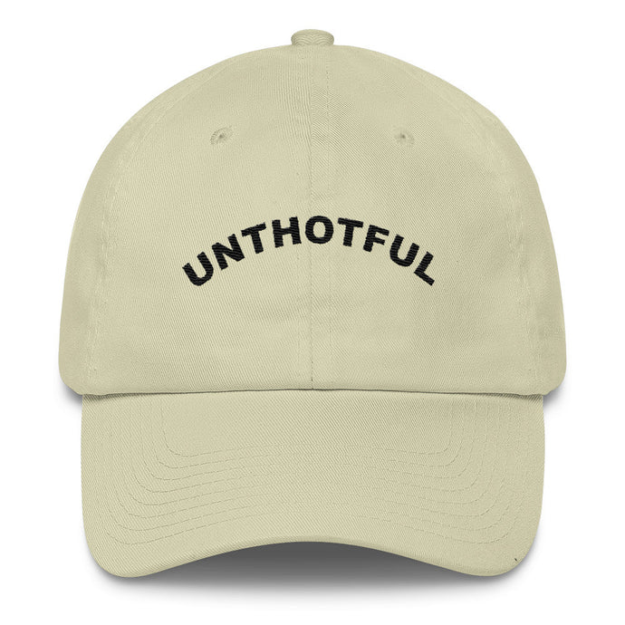 The Classic UNTHOTFUL™ Dad Hat - Beige