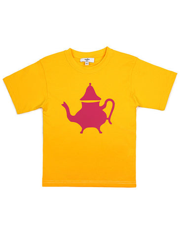 Berrad Tee - Yellow