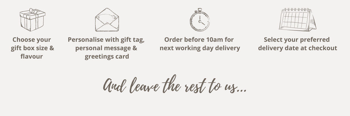How to order gift box delivery