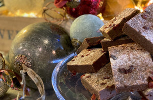 Chocolate Brownies to buy online for Christmas Cranbery chocolate brownies