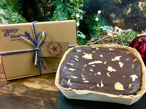 GOLDEN TRUFFLE BROWNIE Gift Box with Greeting Tag