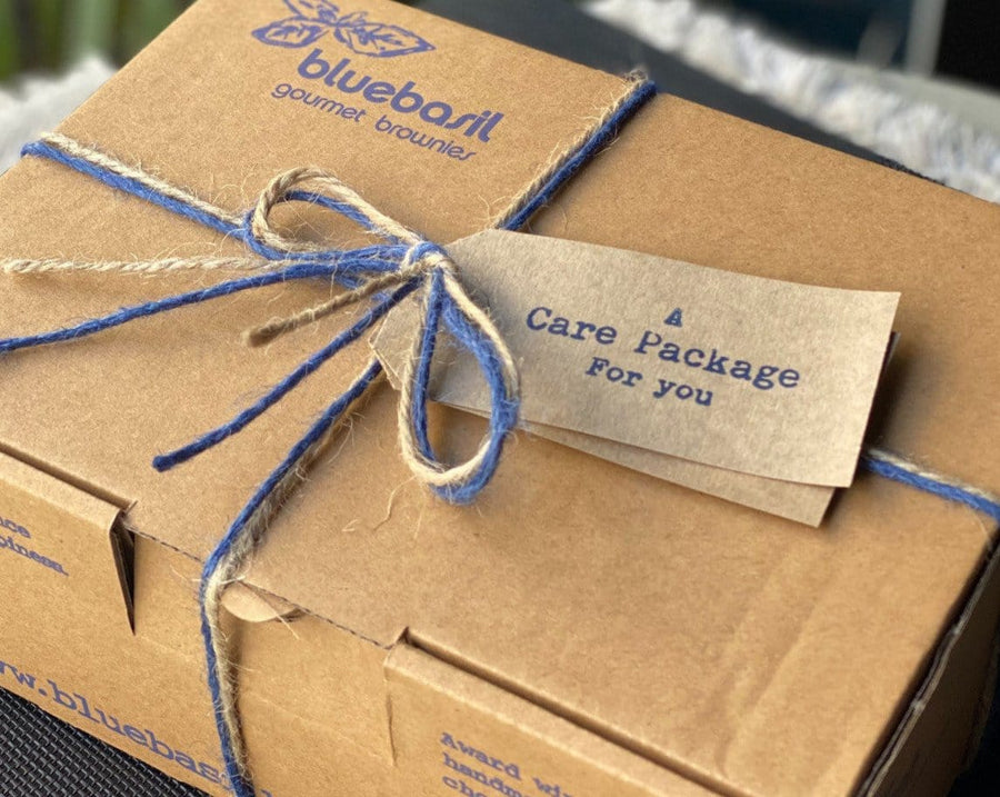 Bluebasil Chocolate brownies online gift box delivery