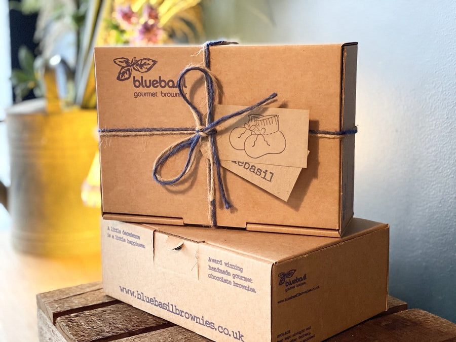 send nut freechocolate brownies gift box