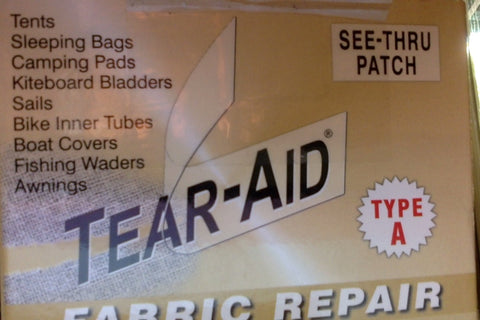 Tear-aid® type A patch - 80 x 150mm - free shipping -