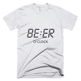 Beer O'Clock - men's t-shirt, T-shirt - Kwotees