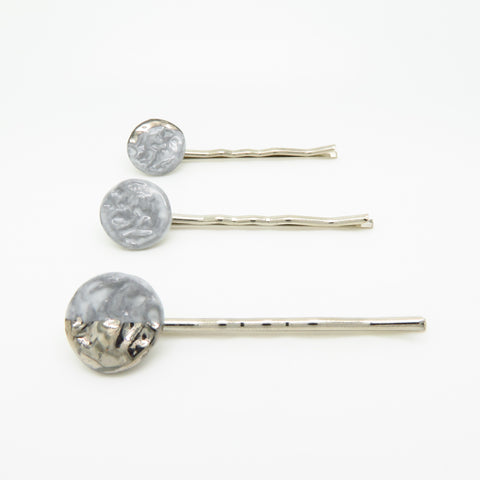 Lunar Phase Hair Pin Set
