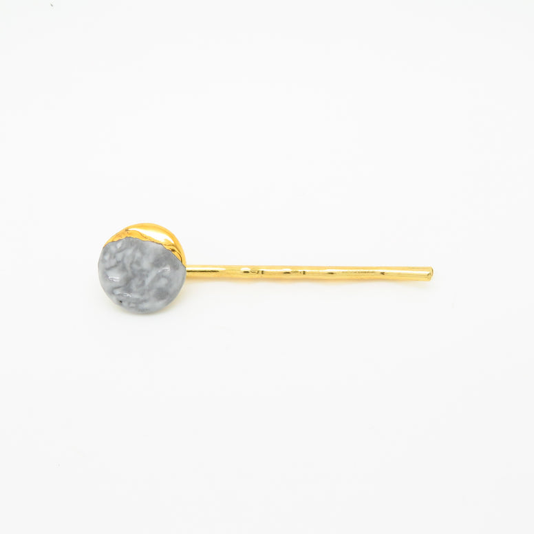 Lunar Phase Crescent Moon Hair Pin