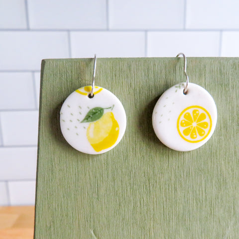 Lemon Earrings
