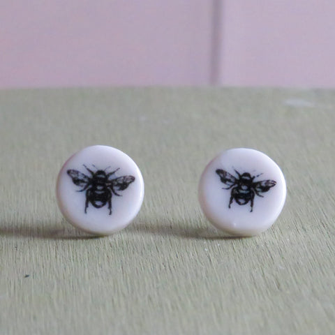 Busy Bee Stud Earrings