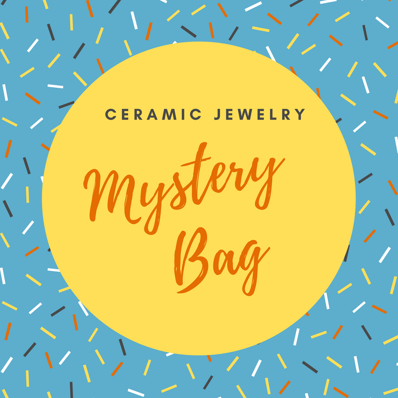 Mystery Grab Bag of Ceramic Jewelry