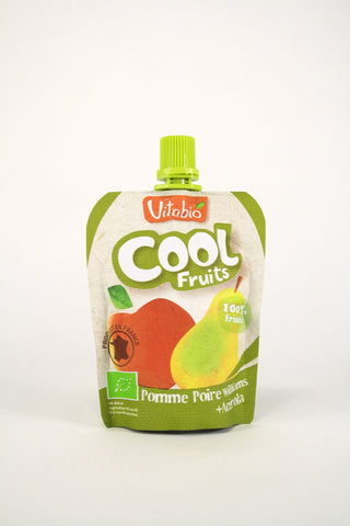 Cool fruits manzana y pera Vitabio, 90 g