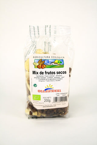 Frutos secos mix bio, 200 g