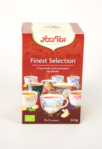 Yogi tea bio selection bolsitas, 18 uds