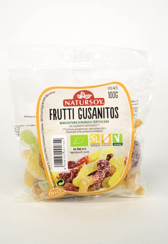 Chuches - Fruttini gusanitos bio, 100 g