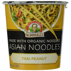 Dr. McDougall's Right Foods Asian Entree Thai Peanut Noodle 1.9 Ounce Packages