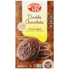 Enjoy Life Double chocolate Crunchy Cookie 6.3 Ounce