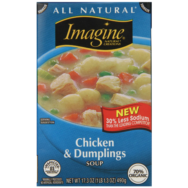 Imagine Chicken Dumpling Soup 17.3 Ounce