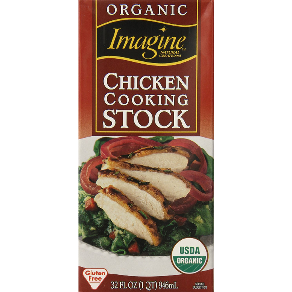 Imagine Organic Cooking Stock Chicken 32 Ounce