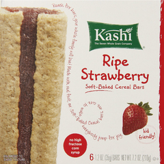 Kashi Cereal Bar Ripe Strawberry 7.2 Ounce