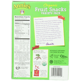 nnie's Homegrown Organic Bunny Fruit Snacks Variety Pack 24 ct
