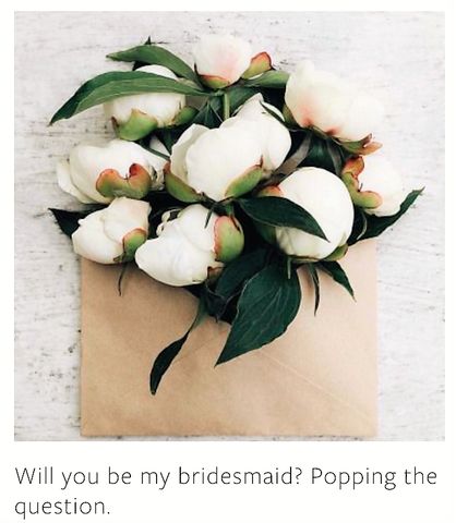 Will you be my bridesmaid - The Little White Wedding Guide