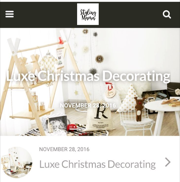 Luxe Christmas Decorating - The Styling Mama