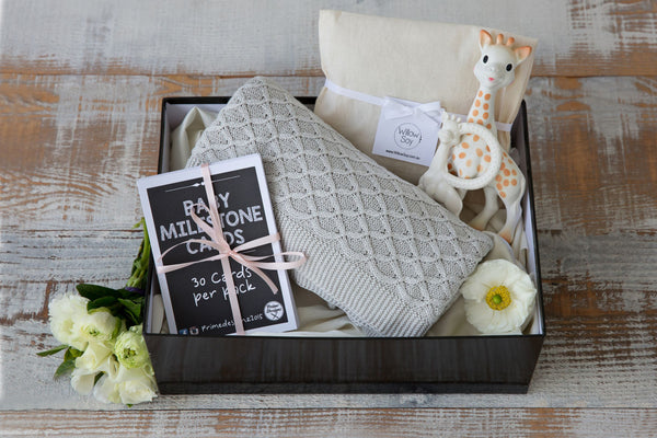 Baby Milestone - Luxury Hampers