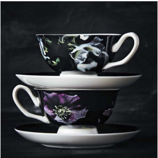 Robert Gordon Anenome teacup and saucer - Luxury Hampers