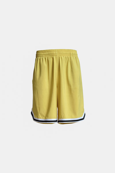 Court Shorts - Yellow