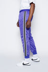 Striped Track Pants - Purple