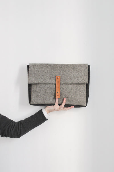 FRANCIS | a classic _ briefcase in burel