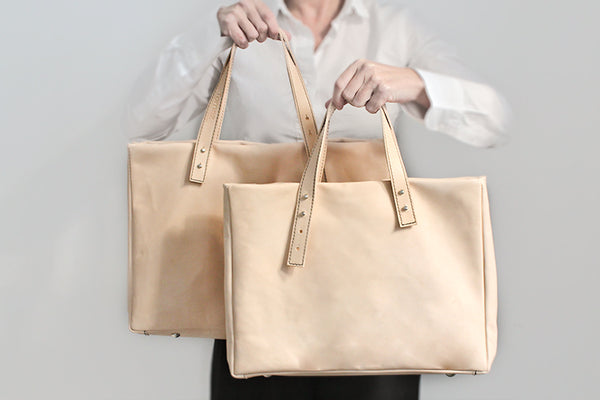 Francis _ the classic _ handbag in natural leather