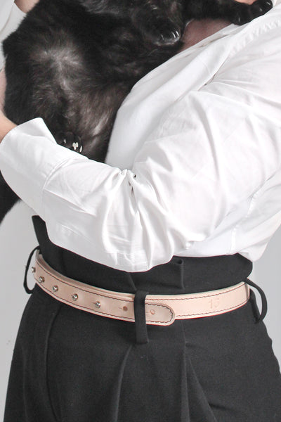 FRANCIS | a classic _belt in leather