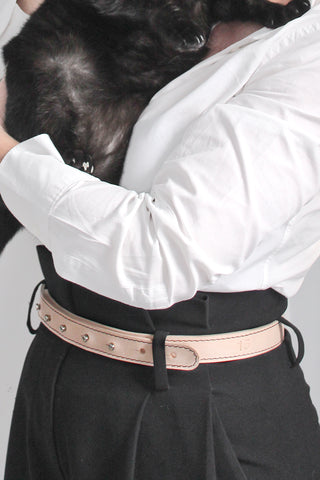 Francis - The Classic Belt in Natural Leather